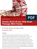 Kinetis KL03 20-pin Chip-Scale Package MCU Family Brochure