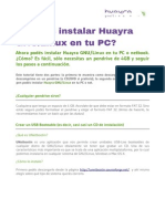 Instalacion Huayra