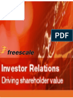 Freescale Semiconductor - Fourth Quarter and Full-Year 2013 Financial Information