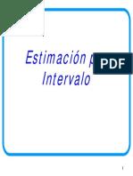 EA 1 ESTIMACIÓN POR INTERVALO