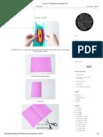 i d l e w i f e _ DIY Project_ Pop-up Flower Card