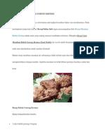 Cara Membuat Bebek Goreng Kremes