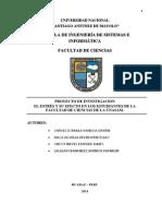 PROYECTO DE INVESTIGACIÓN ESTRES