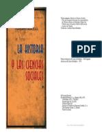 Fernand Braudel - La Historia y Las Ciencias Sociales