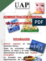 Administración General Nutricion