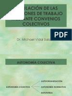 REGULACIÓN DE LAS RELACIONES DE TRABAJO MEDIANTE CONVENIOS COLECTIVOS.ppt