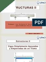 02 Vigas Simplemente Apoyadas de Un Tramo - Estructuras II - UPAO