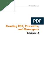 EC-Council - CEH v8 Labs Module 17 Evading IDS, Firewalls and Honeypots Lab Manual 2013