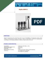 1.Πιεστικό με Inverter επικεφαλής σε όλες τις αντλίες (MPC-Ε)