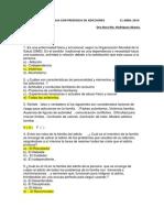 Cuestionario Familia Con Presencia de Adicciones 11 Abril 2014 Rosa