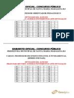 Consulplan 2010 Prefeitura de Santa Maria Madalena Rj Medico Dermatologia Gabarito