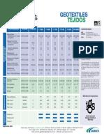 Especificaciones Tecnicas Geotextiles Tejidos y No Tejidos