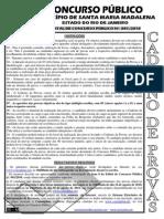 Consulplan 2010 Prefeitura de Santa Maria Madalena Rj Medico Dermatologia Prova