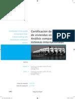 Certificación de Viviendas