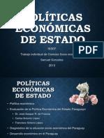 Políticas económicas de estado