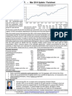 Olesen Value Fund 1-Pager - Mar 2014