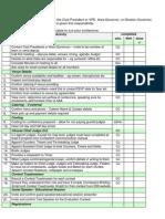 Conference Checklist