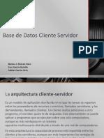 Base de Datos Cliente Servidor