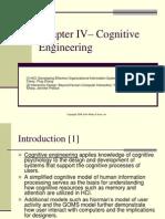Unidad IV Ingenier a Cognitiva