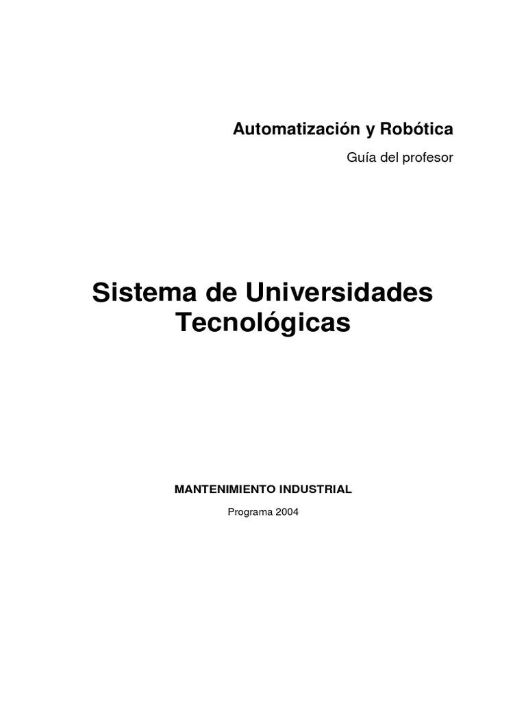 Automatizacion y Robotica Profesor