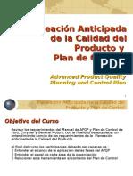 Presentacion Planeacion de La Calidad APQP y Metodologia