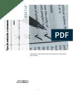 Tipos e Instrumentos de Evaluacion