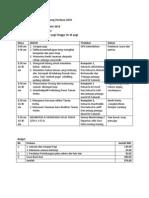 Jadual Kerja Aktiviti Dan Budget