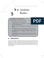 Topik 5 Analisis Risiko