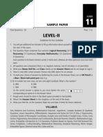 SOF Level 2 IMO Class 11
