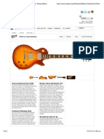 "Vista previa de ""Gibson Guitar- Le s Paul Standard Guitar Specs, Gibson Electric Guitars, Online Guitar Information and Pictures"""