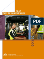 Principles of Safe Design for Work Au(2006)
