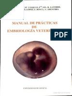 Manual de prácticas de embriología veterinaria 91%