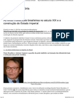 As elites intelectuais brasileiras no século XIX e a construção do Estado imperial _ Estudos de História.pdf
