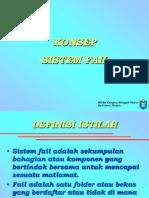 Konsep Sistem Fail