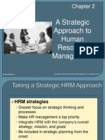 A Strategic Approach to Human Resource Management - Two