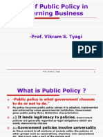 14-Role of Public Policy