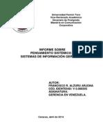 3. Francisco Alzuru Arjona. Pensamiento sistémico y SIG  (SÁBADO 12-04-14)