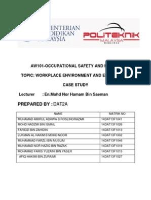 Case Study- Politeknik Sultan Salahuddin Abdul Aziz Shah