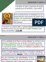 Cristologia2 02-1 Mediador y Cabeza
