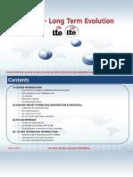 4G Long Term Evolution Introduction_18-Jan-2014