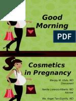 Cosmetics in Pregnancy