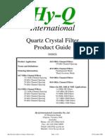 Quartz Crystal Filter Guide