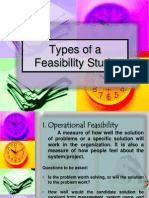 Types of Feasibility