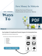 iMoney 12 Ways to Save Money in Malaysia