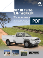 Tata 207 DI Turbo 3.0L Worker