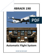 Embraer 190-Automatic Flight System