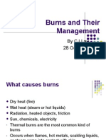 Burns and Their Management