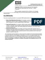 Key CRM Benefits