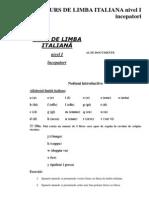 120169641 Limba Italiana