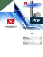 manual  BV Quad certificação garen